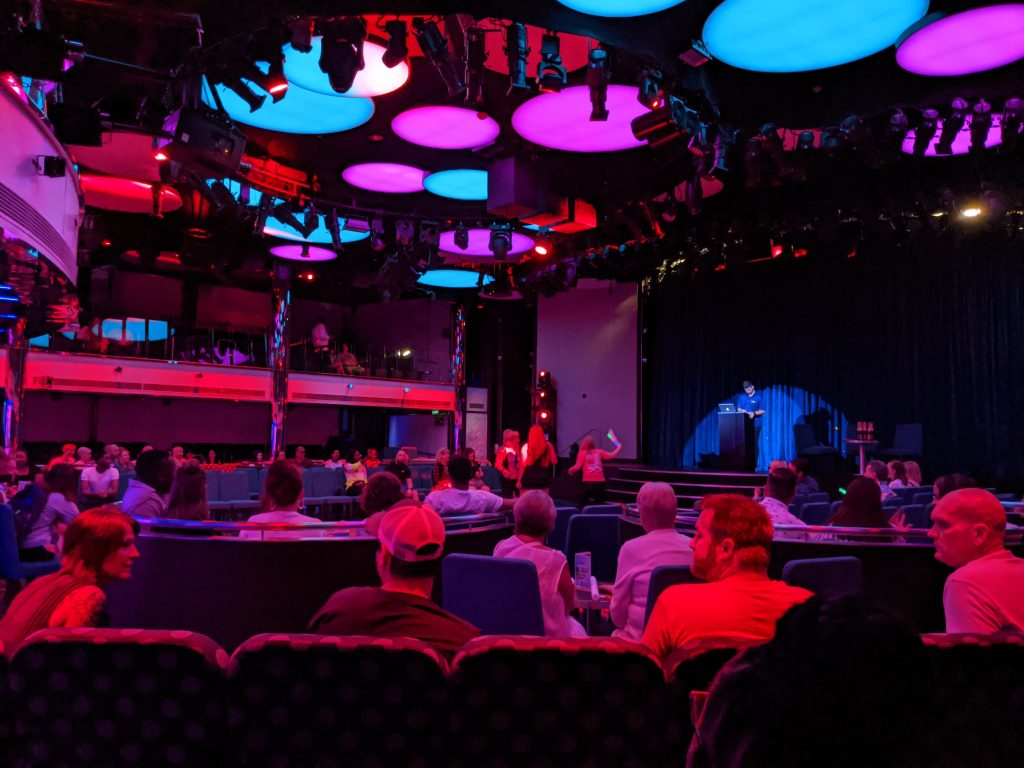 Quest Game show on the Carnival Horizon