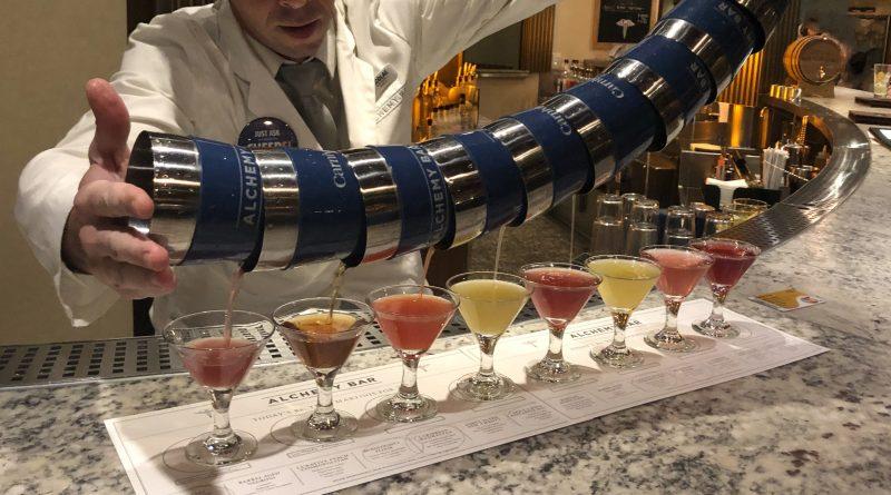 Carnival Alchemy Bar Pour