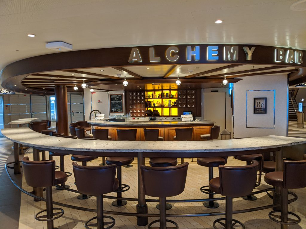 Alchemy Bar - Carnival Horizon