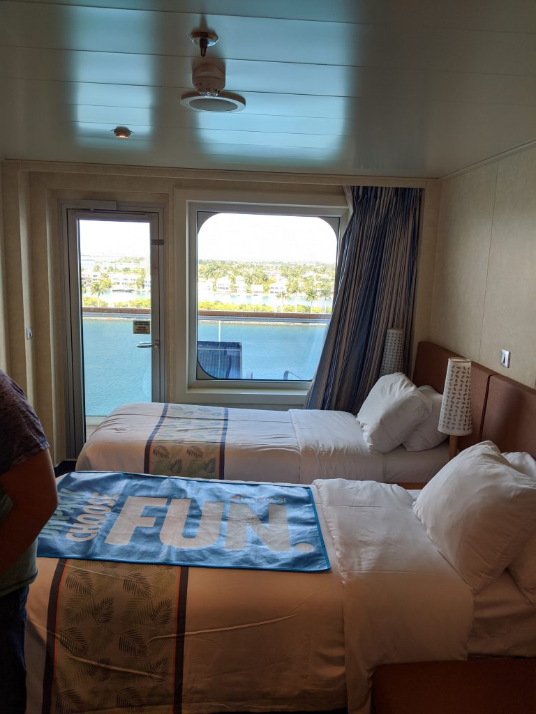 Balcony Cabin - 9th Floor of the Carnival Horizon