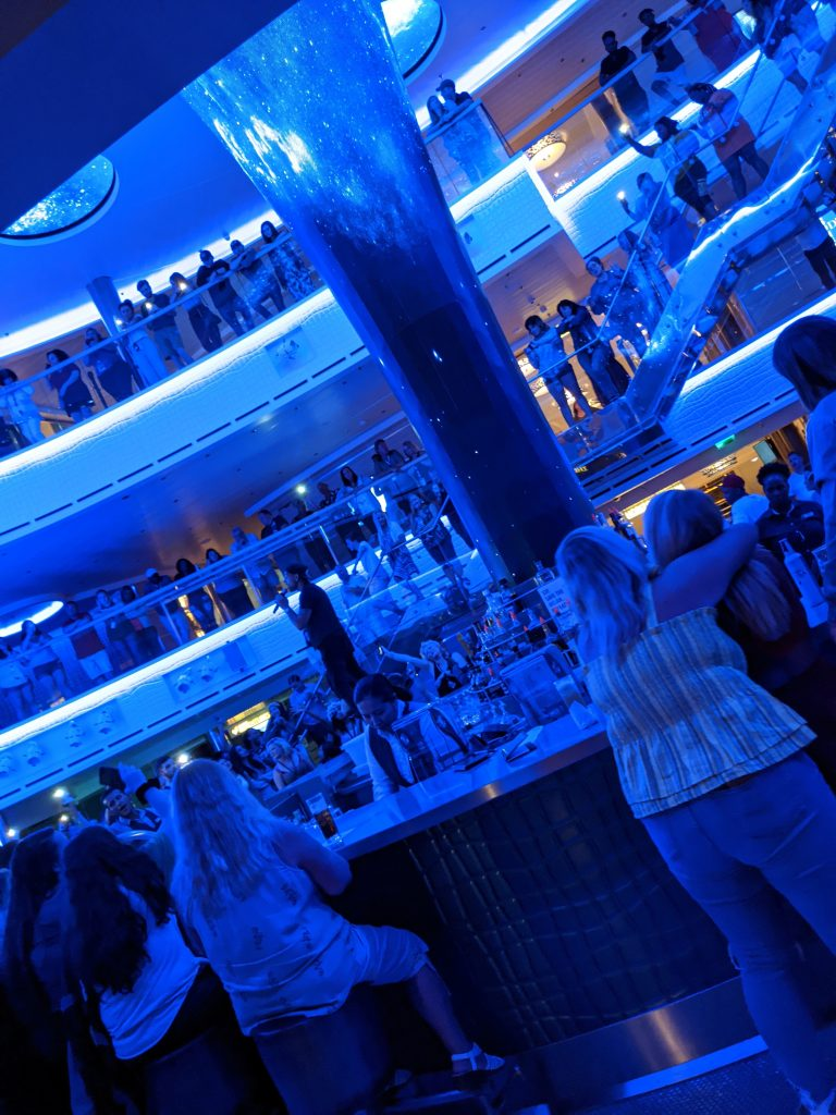 90's Trivia in the Atrium on the Carnival Horizon