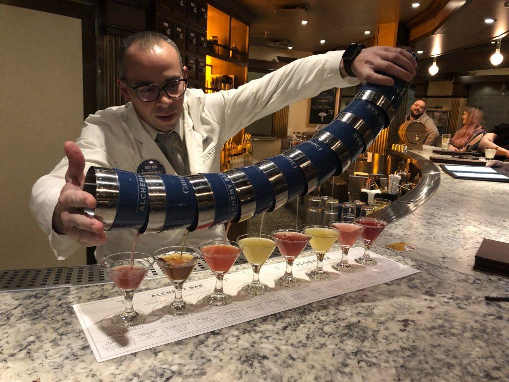 Carnival - Alchemy Bar - Martini Tasting