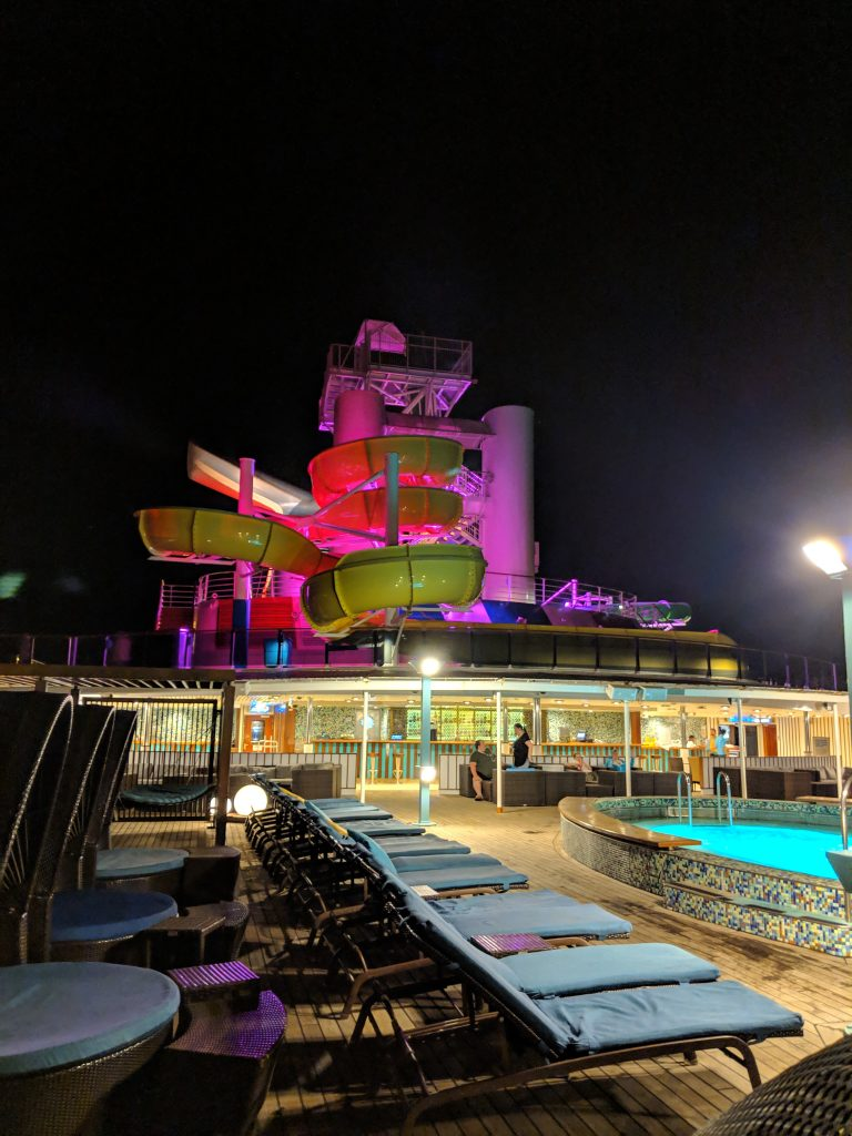 Carnival Pride - Serenity Area At Night