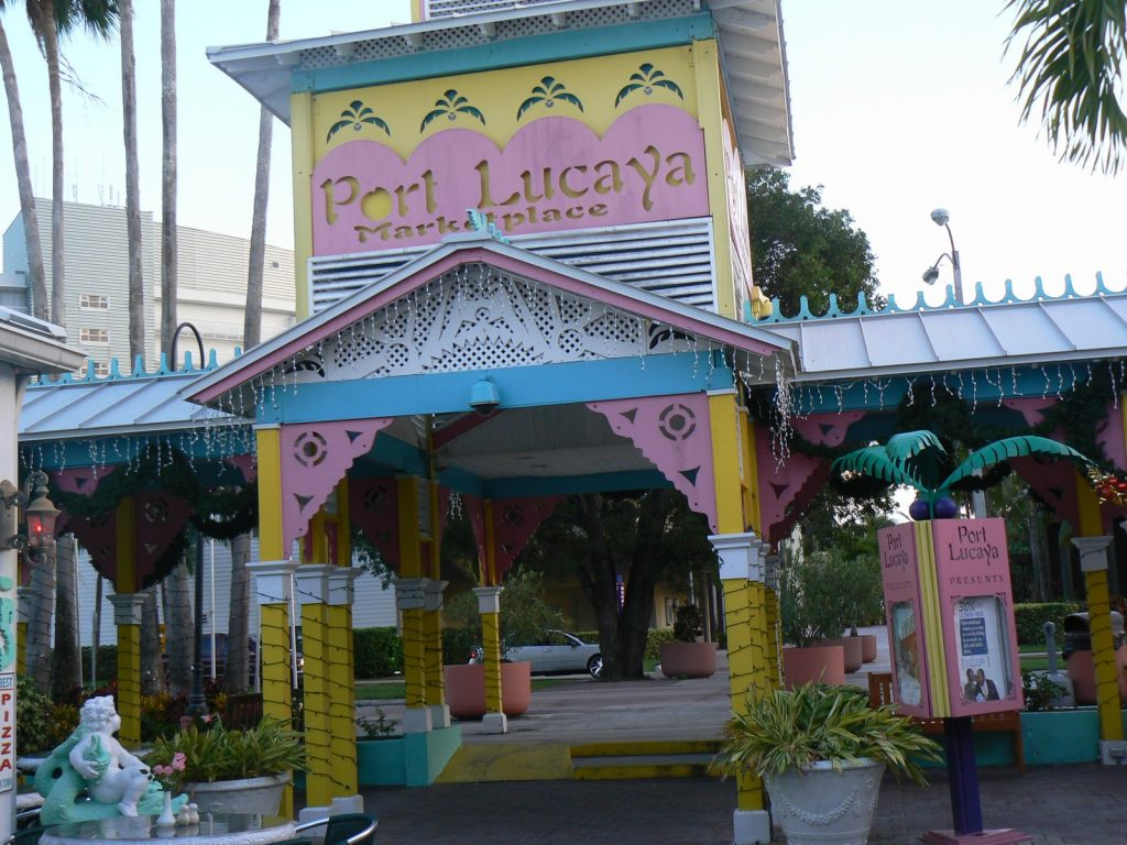 Port Lucya Market Place in Freeport