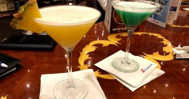 Pineapple Martini at the Atrium Bar on Carnival Pride