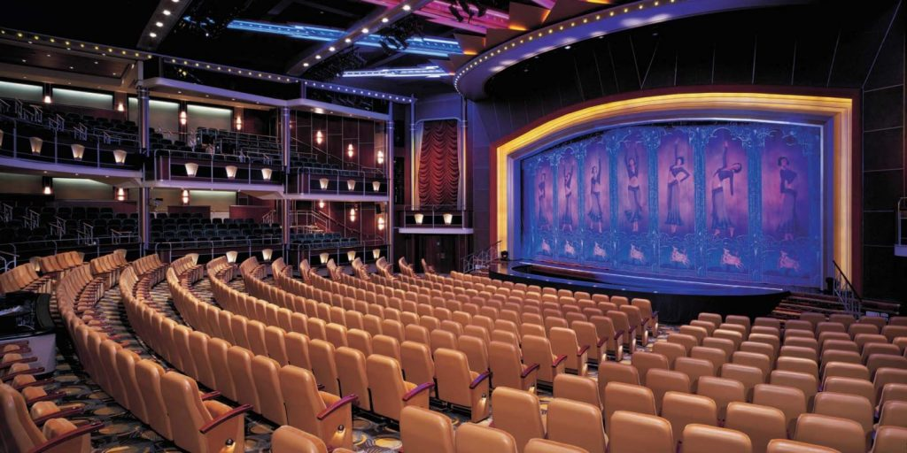 The Theater on the Navigator of the Seas