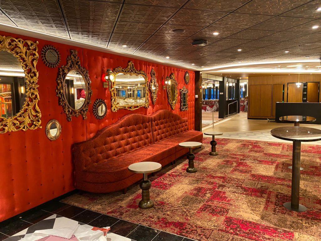 Inside the Fortune Teller Bar