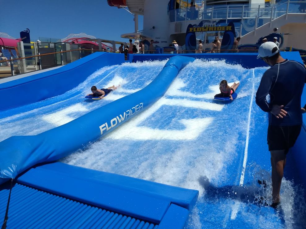 FlowRider on the Navigator of the Seas