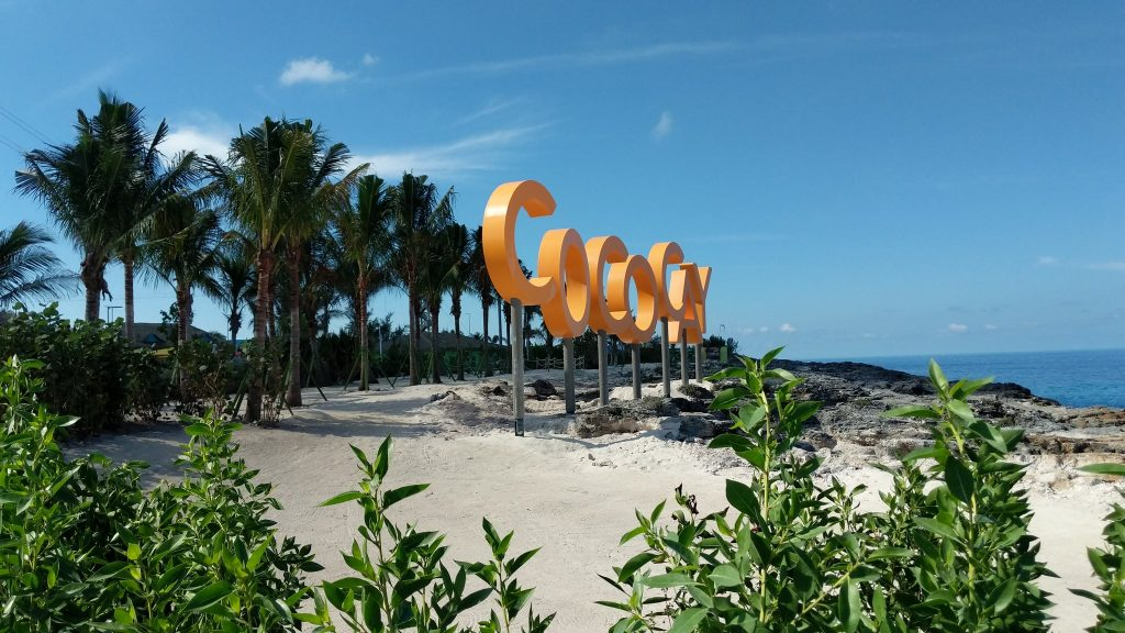Royal Caribbean CocoCay Sign