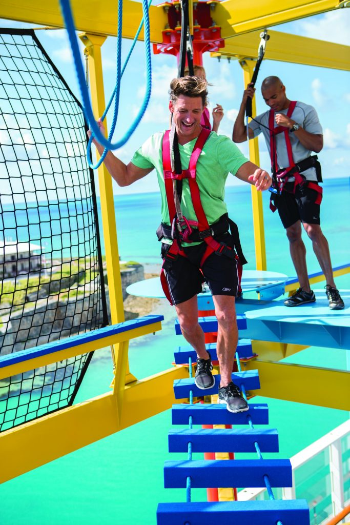 Ropes Course on the Norwegian Breakaway