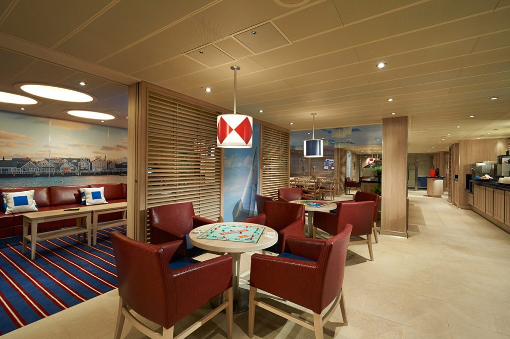 Family Harbor Lounge on the Carnival Vista