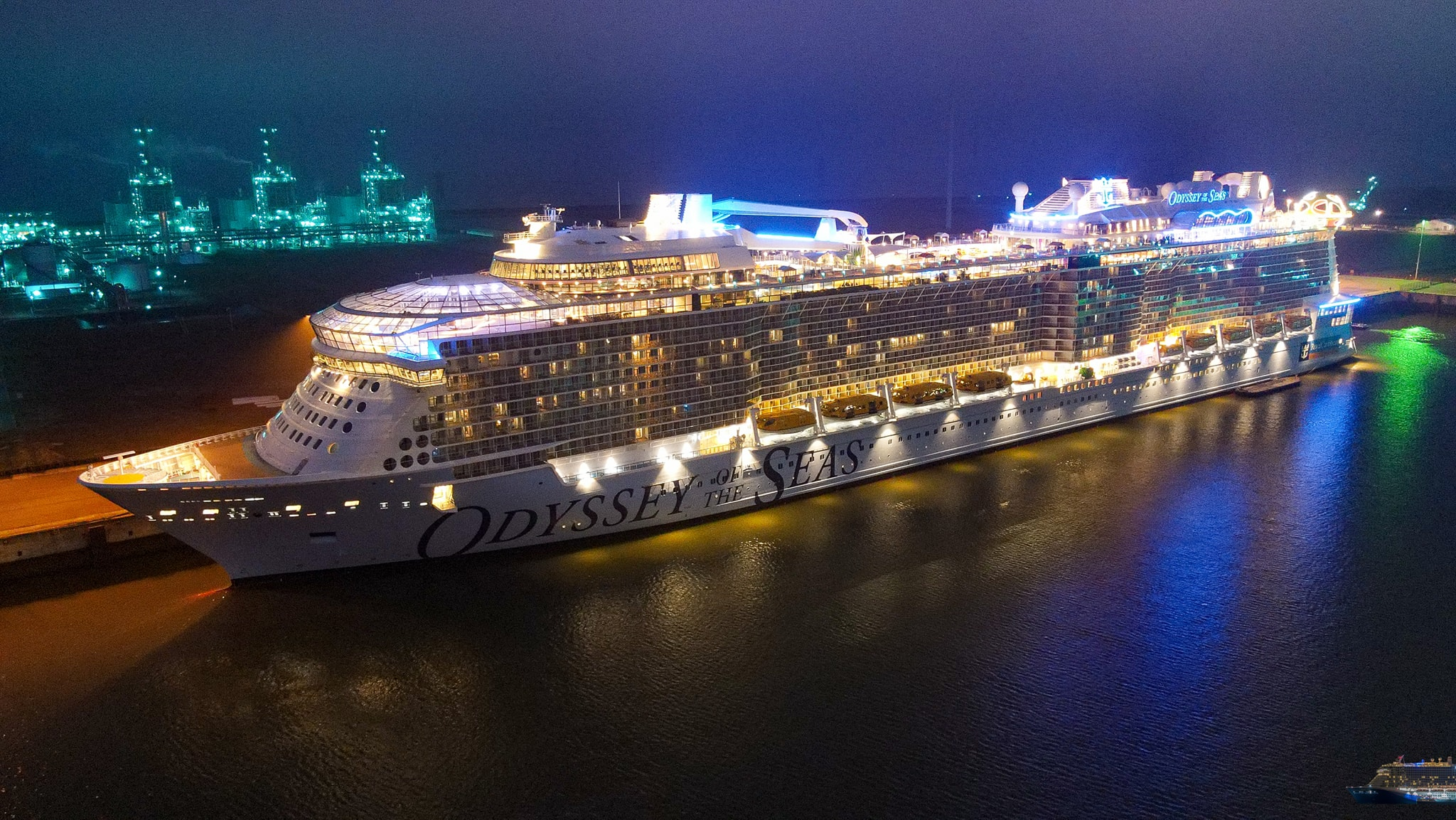 First Pictures Onboard the Odyssey of the Seas - Cruise Spotlight