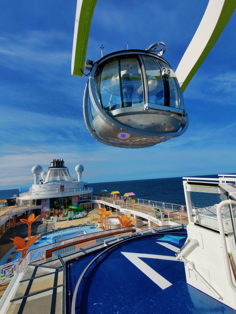 North Star pod raised over Caribbean Themed Pool Deck