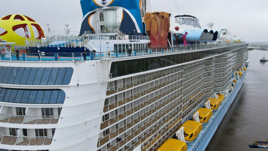 Sports Deck on the Odyssey of the Seas