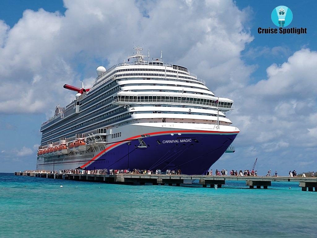 hull art on a carnival cruise ship