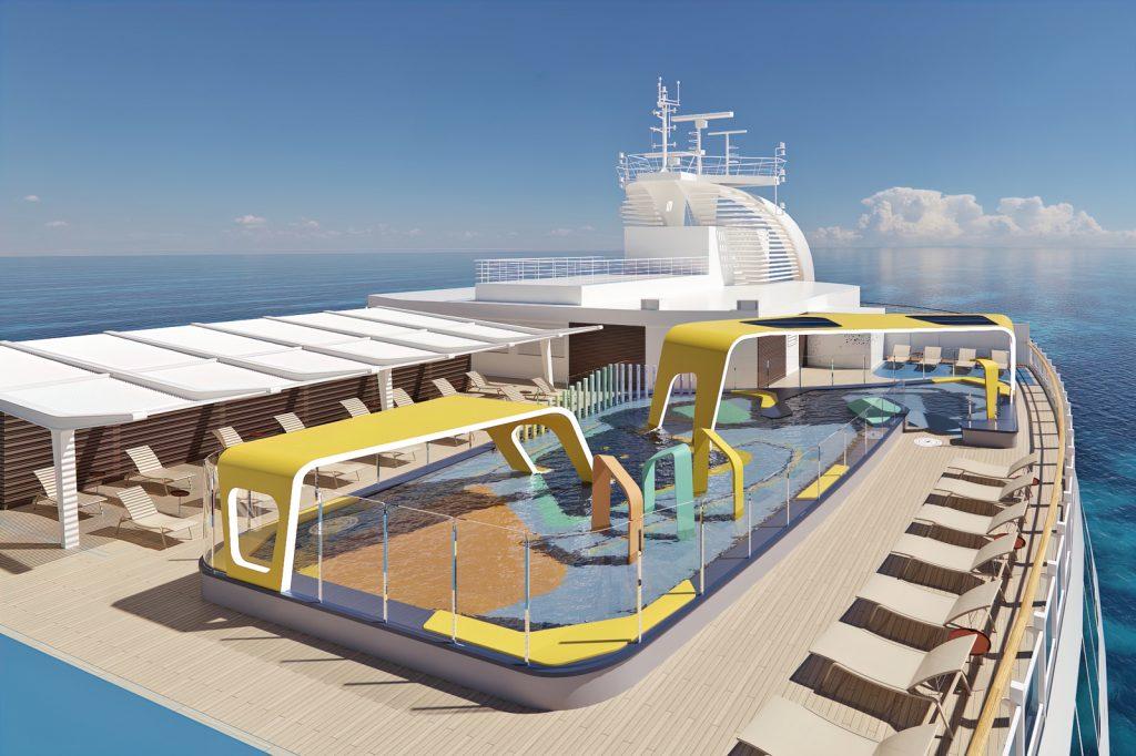 splash park on a cruise ship