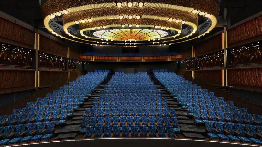 Norwegian Prima Theater Seating