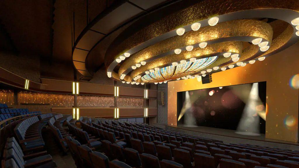 Theater on Norwegian Prima