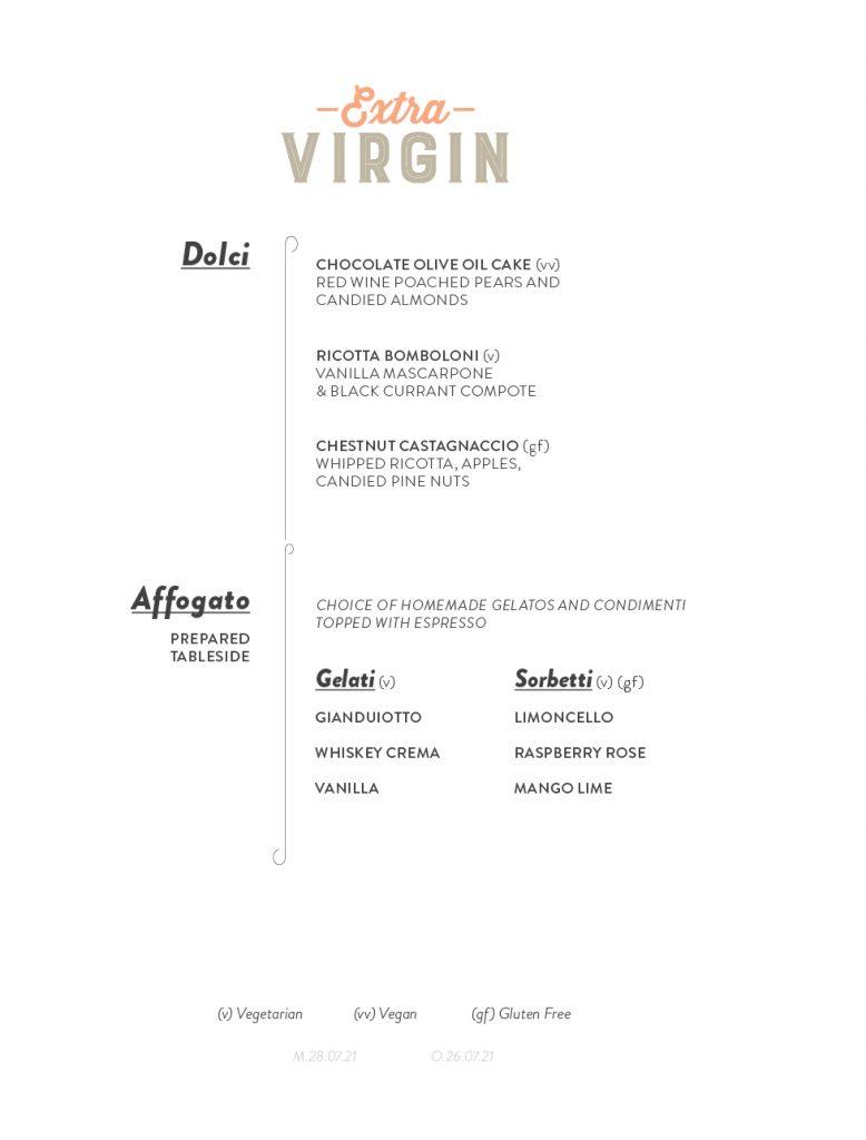 Virgin Voyages Extra Virgin Menu Page 4