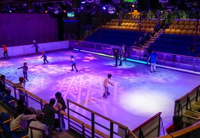 Open Skating on Royal Caribbean's Voyager of the Seas